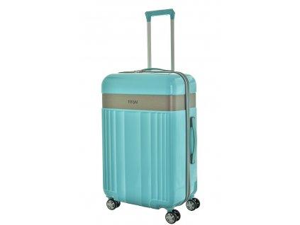 174565 7 cestovni kufr titan spotlight polykarbonat m zelena