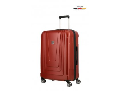 175108 11 cestovni kufr titan x ray 4w m cervena