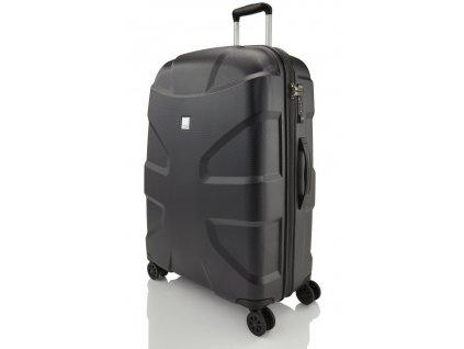 169576 5 cestovni kufr titan x2 shark skin 4w l black
