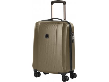 167095 4 cestovni kufr titan xenon deluxe s champagne