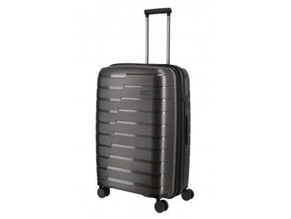172849 11 cestovni kufr travelite air base 4w m anthracite