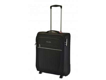 165886 6 cestovni kufr travelite cabin s 55 black
