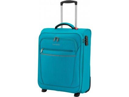 166978 3 cestovni kufr travelite cabin s 55 turquoise