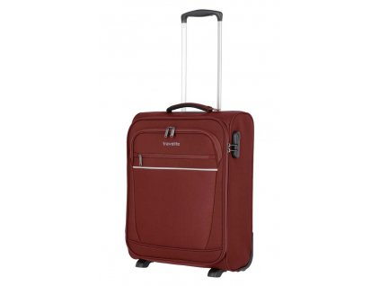 173998 7 cestovni kufr travelite cabin s 55 bordo