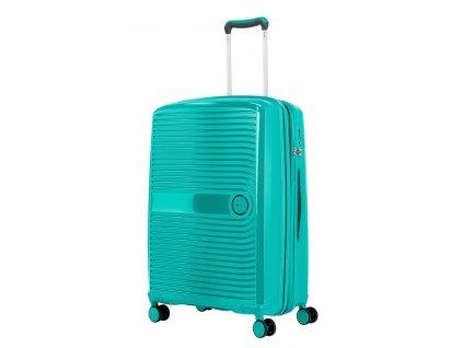 175978 10 cestovni kufr travelite ceris w4 m zelena
