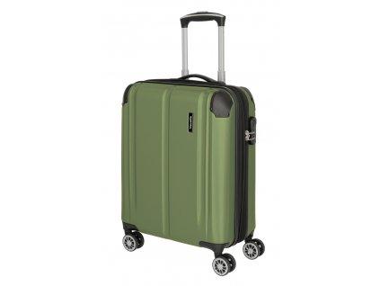 177427 18 cestovni kufr travelite city 4w s rozsiritelny khaki