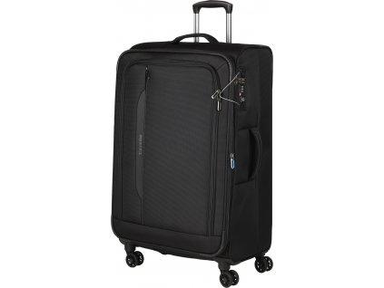 165190 7 cestovni kufr travelite crosslite 4w l black