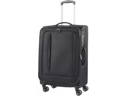 165187 6 cestovni kufr travelite crosslite 4w m black