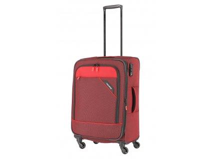172450 7 cestovni kufr travelite derby 4w m red
