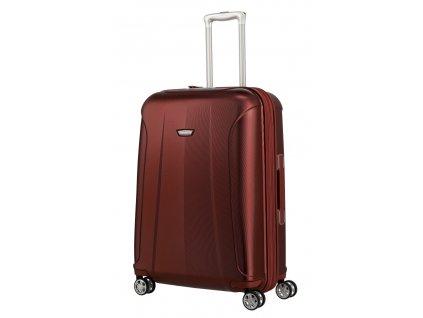 175138 12 cestovni kufr travelite elbe 4w m exp cervena
