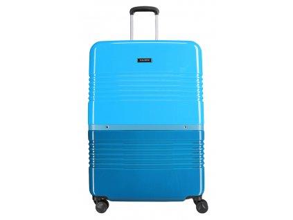 172840 8 cestovni kufr travelite frisco 4w l petrol blue
