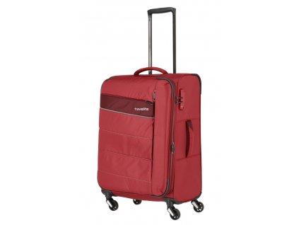 173569 6 cestovni kufr travelite kite 4w m cervena