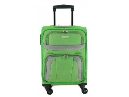 174502 5 cestovni kufr travelite orlando 4w s zelena