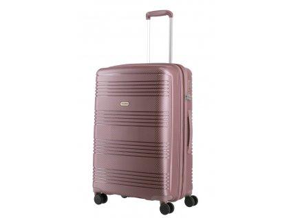 176074 8 cestovni kufr travelite zenit w4 m ruzova