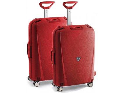 164251 1 cestovni kufry set 2ks roncato light m l cervena