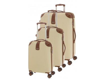 165406 1 cestovni kufry set 3ks dielle s m l bezova