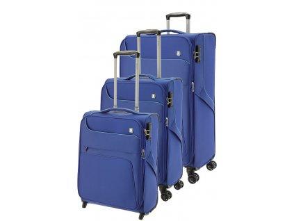 170833 1 cestovni kufry set 3ks dielle s m l blue