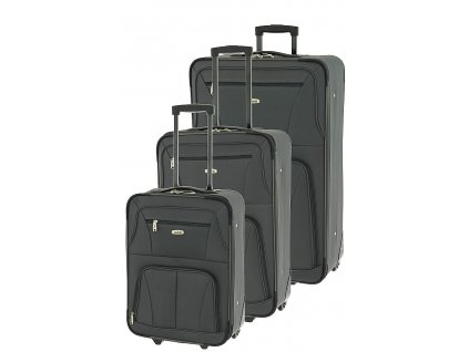 166879 1 cestovni kufry set 3ks dielle s m l antracitova