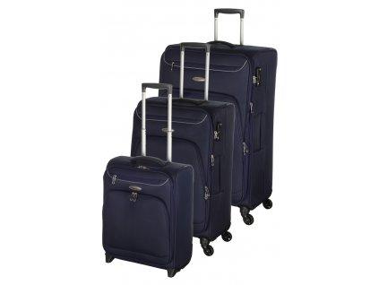 183094 cestovni kufry set 3ks d n s m l modra