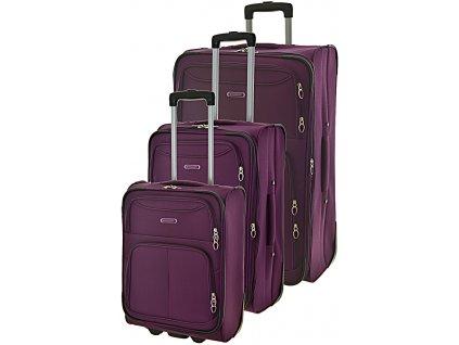 170761 1 cestovni kufry set 3ks madisson s m l purple