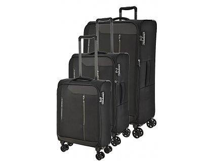 170725 1 cestovni kufry set 3ks march stardust s m l black