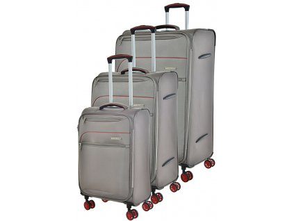 170866 1 cestovni kufry set 3ks snowball s m l grey