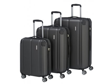 170857 1 cestovni kufry set 3ks travelite city s m l anthracite