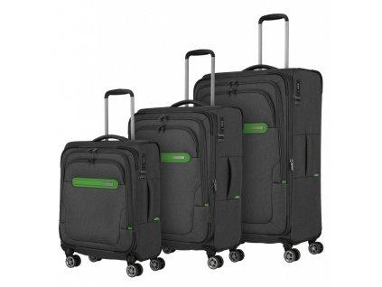 173266 1 cestovni kufry set 3ks travelite madeira s m l antracitova