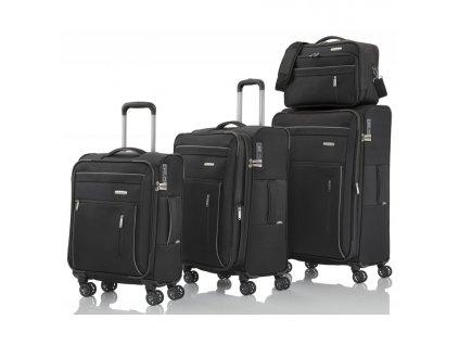 170881 1 cestovni kufry set 4ks travelite capri s m l b black
