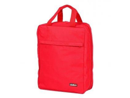174007 3 cestovni taska na boty dielle cervena
