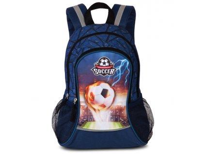 176398 1 detsky batuzek soccer modra potisk
