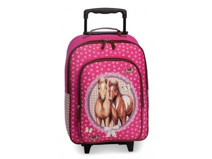 167668 1 detsky kufr konici ruzova