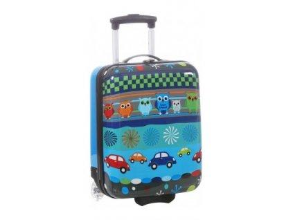 166306 5 detsky kufr snowball sovicky 2w sx modra