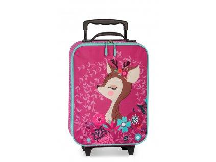 171499 1 detsky kufr srnecek pink