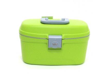 164245 3 kosmeticky kufr roncato zelena