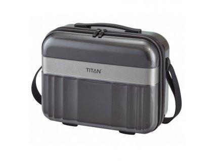 167719 8 kosmeticky kufr titan spotlight flash anthracite