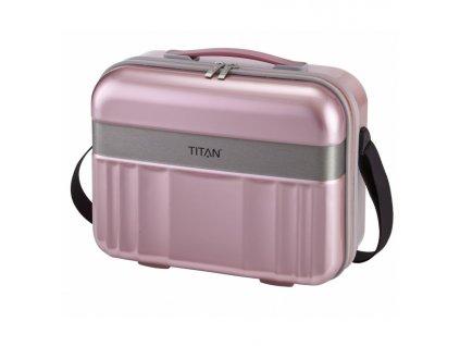 168163 6 kosmeticky kufr titan spotlight flash rose