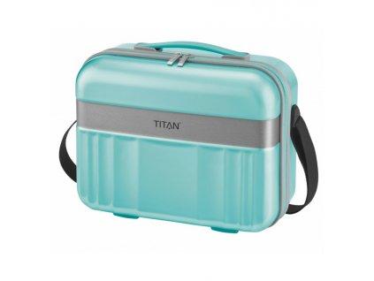168166 6 kosmeticky kufr titan spotlight flash mint