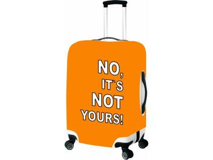 165163 2 obal na kufr l oranzova