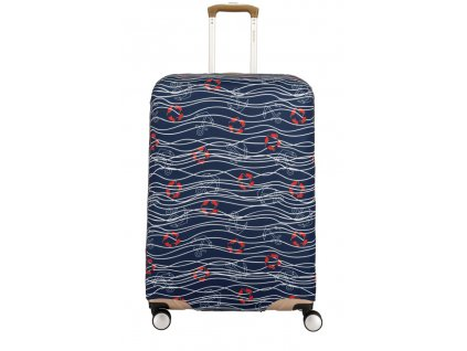 172186 1 obal na kufr travelite m modra