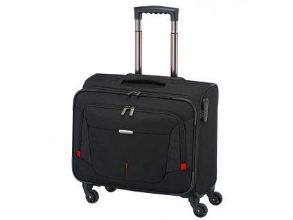 167899 4 pilotni kufr travelite work 4w black