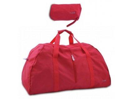 168472 1 skladaci cestovni taska dielle lybra cervena