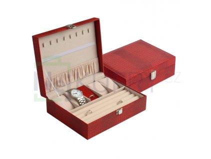175702 1 sperkovnice box na hodinky jk box cervena