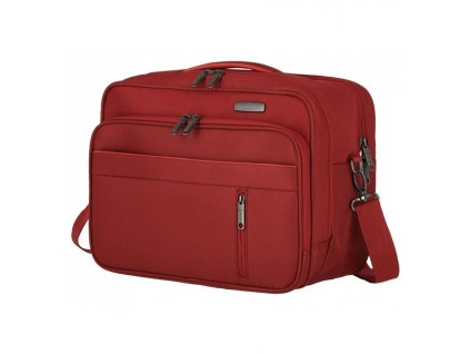 167080 4 taska do letadla travelite capri horizontal red