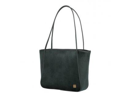 173194 3 taska shopper titan barbara velvet zelena
