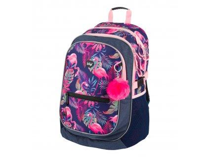A 7207 skolni batoh flamingo 1