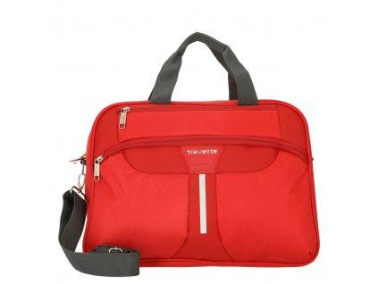 92404 10 Travelite Speedline taška červená 0