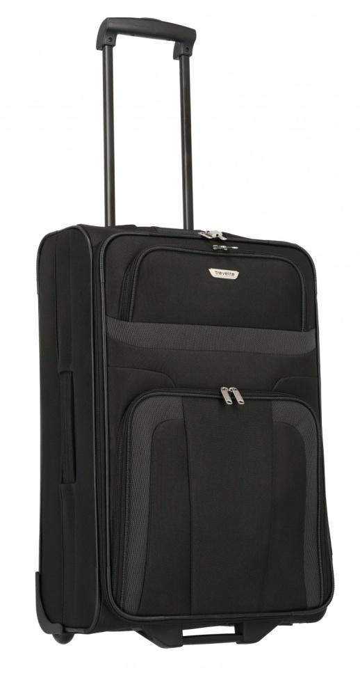 Cestovní kufr Travelite Orlando M 98488-01 58 L černá