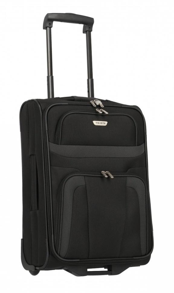 Cestovní kufr Travelite Orlando S 98487-01 37 L černá