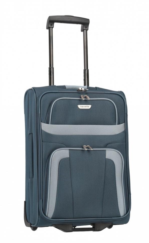 Cestovní kufr Travelite Orlando S 98487-20 37 L modrá